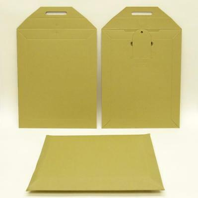 100 Strong 265x210mm Cardboard Protective Mailers Envelopes For A5 Format