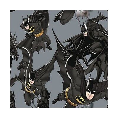 DC Comics Batman The Dark Knight Rises 100% Cotton Curtain Lining Fabric