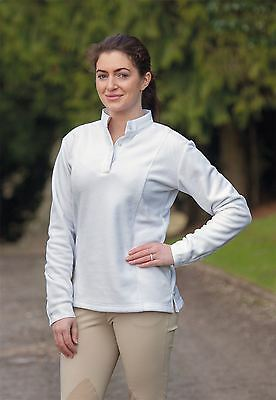 Shires Ladies Thermal Hunt Shirts- White, XXS-XXL 9612