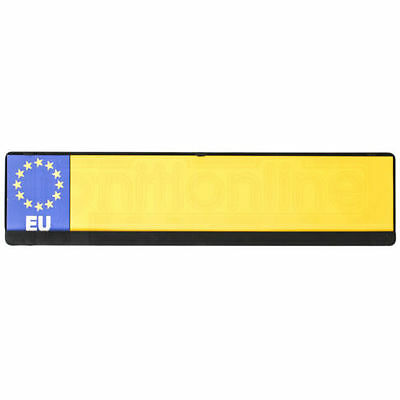 Universal - Car Black Number Plate Holder Licence