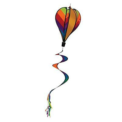 Hot Air Balloon Wind Windsock Rainbow Windsock Striped Outdoor Yard Decor Toy