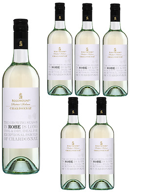 Rosemount District Release Chardonnay White Wine 5* Winery 2013 (6x750ml)RRP$129