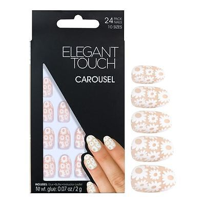 ELEGANT TOUCH FAUX ONGLES - Carrousel (24 ongles)