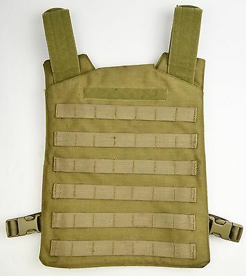 Blackwater Plate Carrier Tactical Vest Khaki