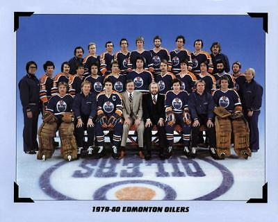 1980 Edmonton Oilers Team Photo 8X10