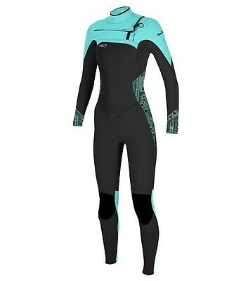 O'neill Superfreak Womens Full Wetsuit 5/4 Mm 2017