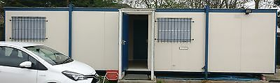 30 x 10ft Portable Office Cabin & WC