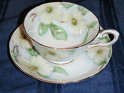 "Tuscan "" Dogwood"" Tea Cup and Saucer"