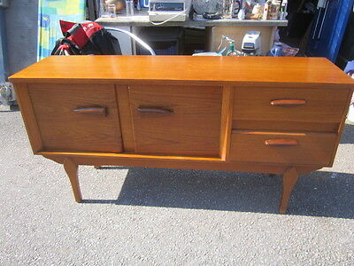 Vintage Retro Mid Century Danish Style Teak Sideboard Local Delivery or Courier