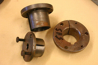 Browning  and   Woods V-belt  Pully  Split Tapered Bushings (one only)