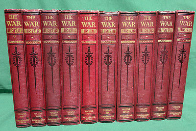 The War Illustrated  A Complete Record of WW2  10 Volumes Hammerton