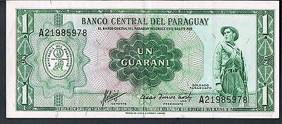 PARAGUAY BANKNOTE 1 P193b 1963 GVF