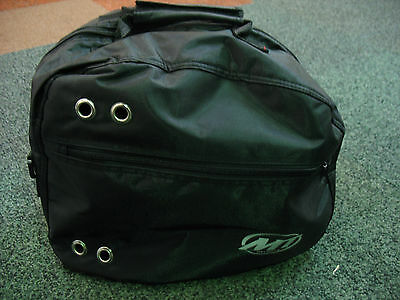 Deluxe Luxury Motorcycle Crash Helmet Bag Lined Protective & Shoulder Strap New
