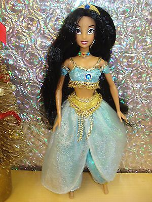 Princess Jasmine Doll~Disney~Fancy Outfit~Not In Box~Excellent Condition~