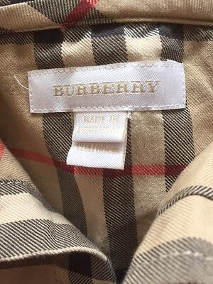 Burberry shirt and trousers 12M