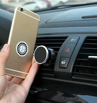 Universal Car Magnetic Phone Holder Stand Mount Air Vent For Iphone Samsung GPS