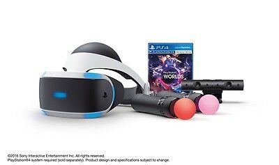 PlayStation VR Launch Bundle (PS4) NEW! Factory Sealed! Ready to Ship!