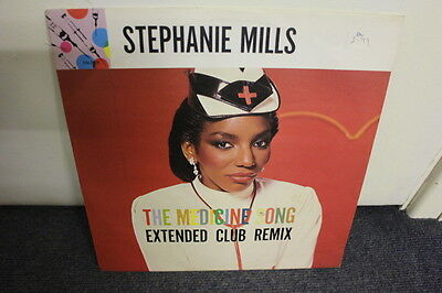 """12"""" Vinyl Record, Stephanie Mills """"the Medicine Song"""", Extended Club Re-Mix Club"""