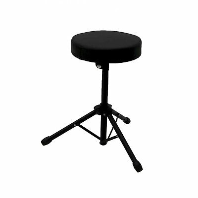New! Foldable Drum Stool Throne Chair Seat Music Piano Keyboard