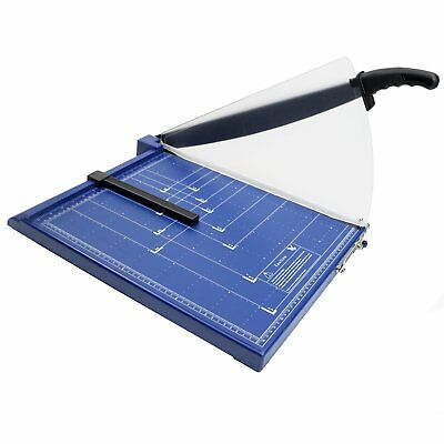 NEW Professional Grade A3 A4 Paper Guillotine Cutter Trimmer - Blue