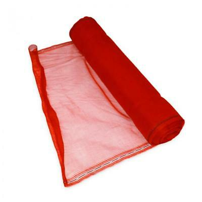 NEW Red Shade Debris Scaffold Netting 2mtr x 50mtr RRP £69.99