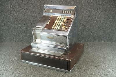 National Cash Register Chrome Case Electric Needs Repair Local Pickup Only