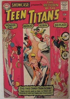 Showcase 59 (1965 DC Comics) 3rd Appearance Teen Titans, Nice Copy
