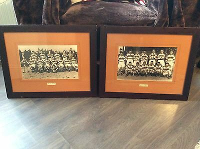 """Hull Fc Pictures X2 Approx 20X16"""" 1 X Team 1936/37 1 X Team 1947/48 Rugby League"""