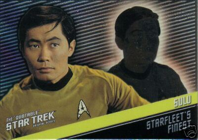 Quotable Star Trek Tos Starfleet's Finest F5 Sulu 310