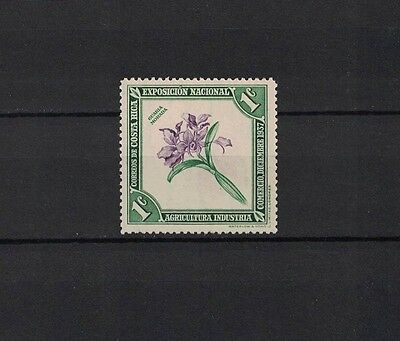Costa Rica 1938 Minr 198 ** / mnh Orchidee orchid