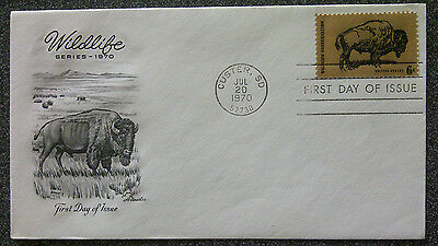 Fdc - Wildlife Series - 1970
