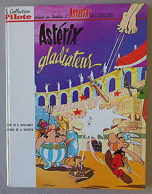 Collection Pilote / Uderzo   *** Astérix Gladiateur  ***  Eo 1964 Be+/tbe