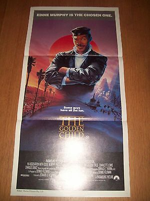 The Golden Child movie poster original Australian day bill Eddie Murphy