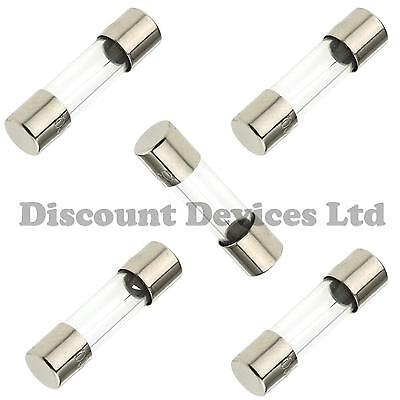 F 10A Fast Quick blow Cartridge Glass Fuses 5x20mm