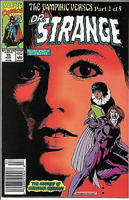 DOCTOR STRANGE Sorcerer Supreme #15 AMY GRANT COVER Marvel Comic Book DR VF/NM