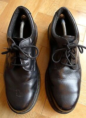 Dr Martens Industrial steel toe cap black leather protective work shoes UK 12 47