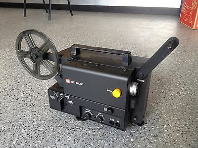 Gaf Super 8 Sound Cine Film Projector In Full Working Order