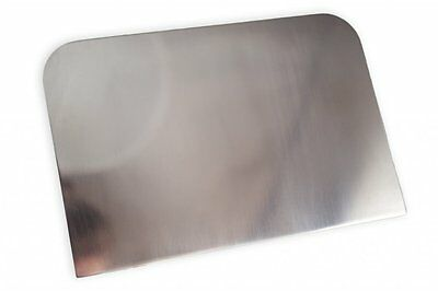 Large Stainless Steel Side Scraper Cake Decorating