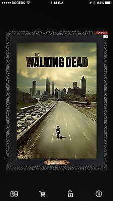 TWD Masterpiece Season 1 Poster 538cc Topps The Walking Dead Digital Cards