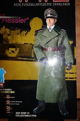"Dragon  Cyber Hobby Exclusive 1/6 scale 12"" WWII Panzer Commander"