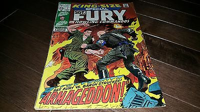 King Size Special #7 Sgt Fury 1971 ..fine