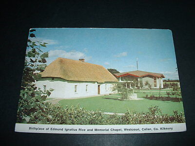 .ireland Rare Postcard Birthplace Of Edmund Ignatius Rice Callan Kilkenny