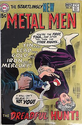 Startlingly New Metal Men # 40 DC Comics 1969 VF#