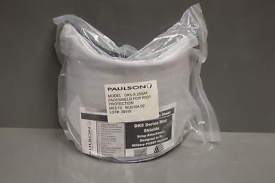 Paulson Faceshield for Riot Protection, DK5 Series, NEW!