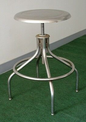 Stainless Steel Stool  - Adjustable