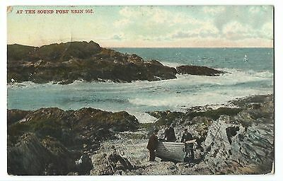 IOM; At The Sound, Port Erin PPC, 1907 Port Erin PMK to Miss Simpson, Stockport