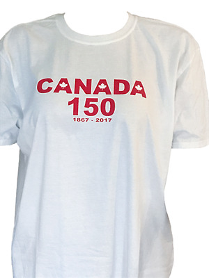 Canada Day 150 Oversized Plus Size Curvy Unisex T-Shirts (Ships Immediately!!)