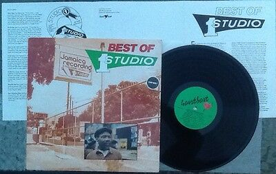 BEST OF STUDIO 1 VOL. 1 Various REGGAE/ROCKSTEADY US Import N/MINT Vinyl LP