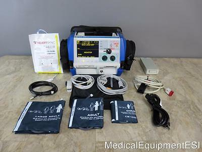 ZOLL M Series 3 Lead ECG SpO2 NIBP Analyze AED Pace ALS Case
