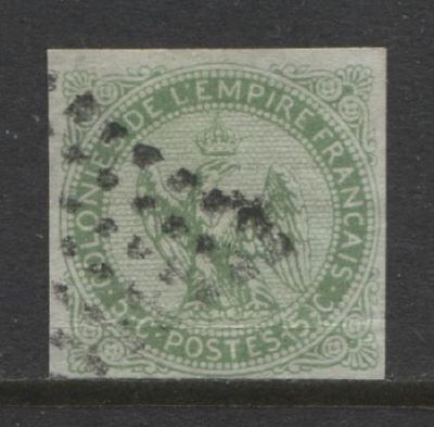 1859 French colonies 5 c. Eagle & Crown issue used